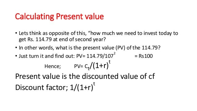 present value lecture 3