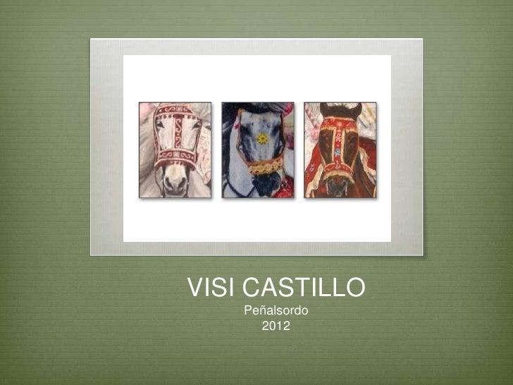 VISI CASTILLO    Peñalsordo      2012