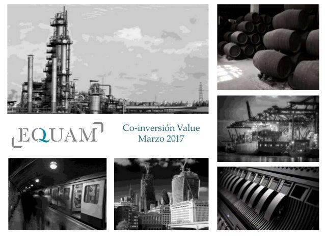 Co-inversión Value Marzo 2017