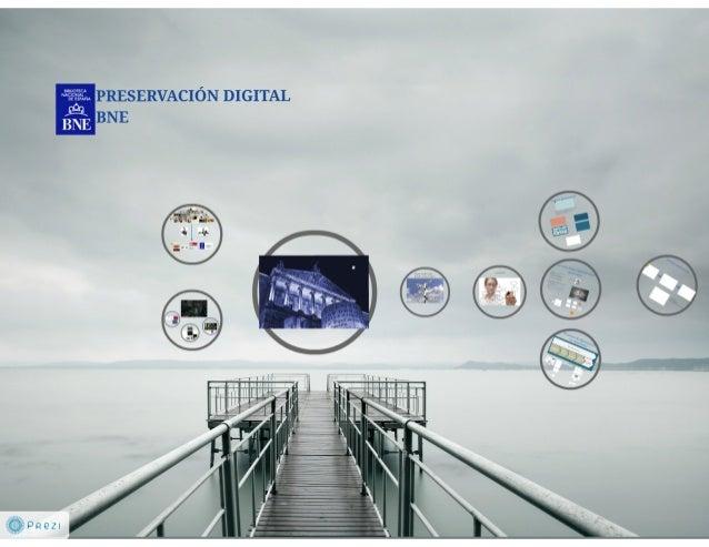 Preservación digital BNE. Isabel Bordes Cabrera