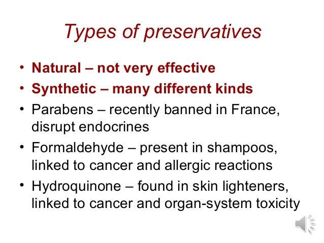 Preservatives In Cosmetics
