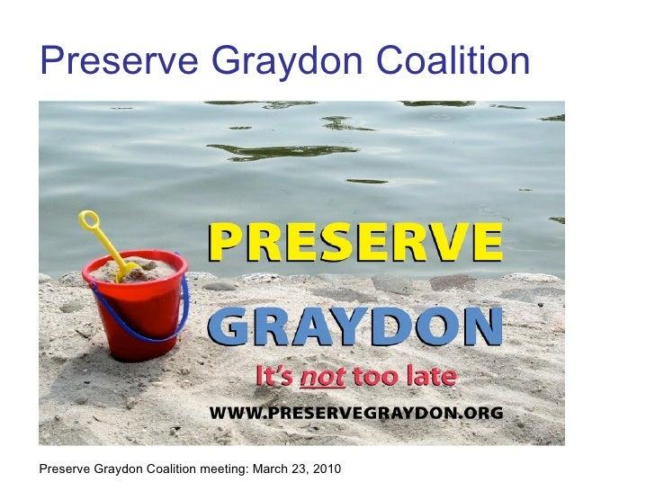 Preserve Graydon Coalition