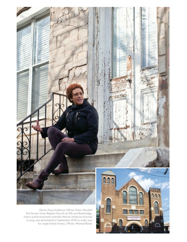 Preserving Philadelphia's Built African American Heritage: A Conversation with Faye Anderson