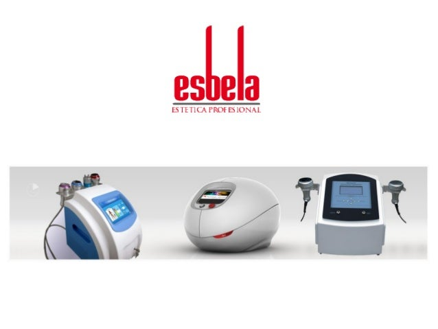 Esbela. Estética profesional y aparatología. Visita nuestra página web www.esbela.es