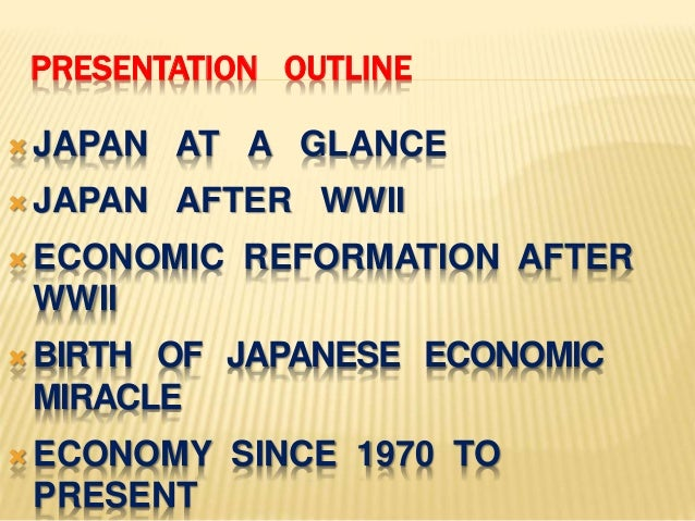 japans economic miracle in the years following world war ii These restrictions were eased as economic recovery increased  in the years leading up to world war ii,  but following their recommendations is voluntary.