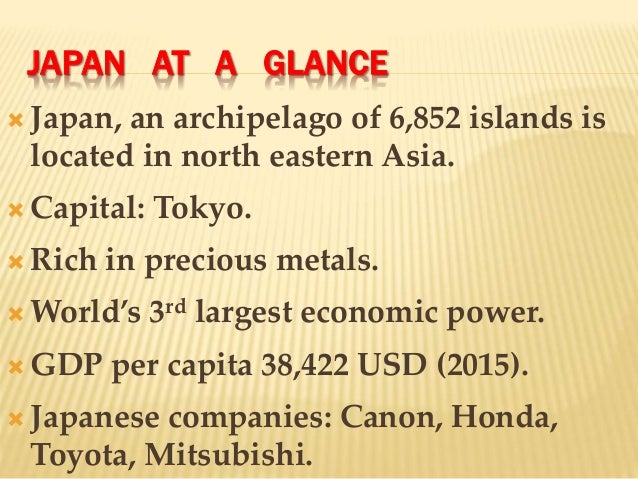 Economic Miracle in Japan - Essay Example