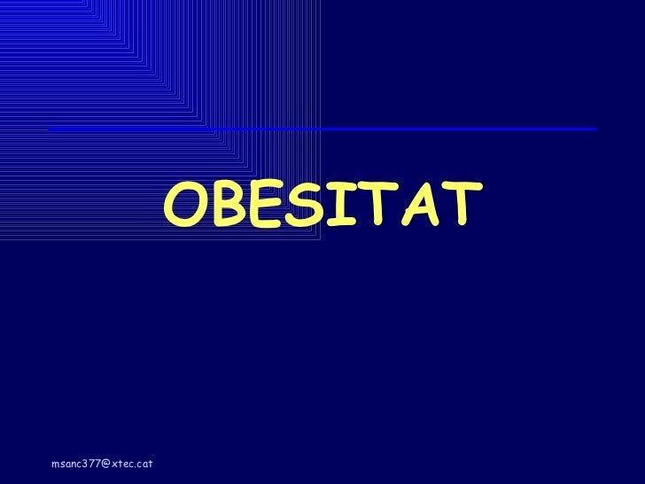 OBESITAT