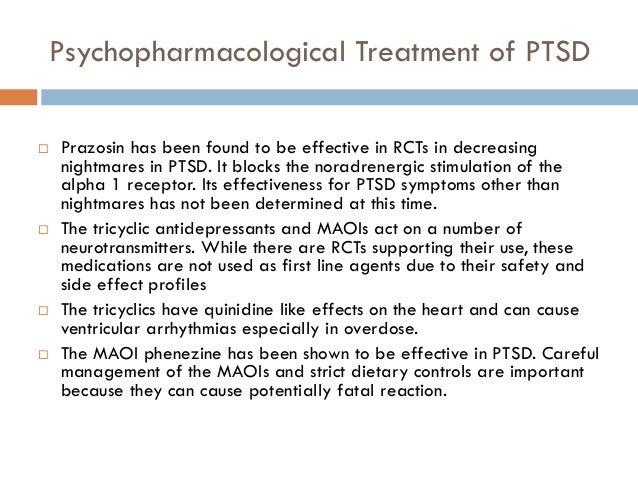 Prazosin Ptsd Side Effects