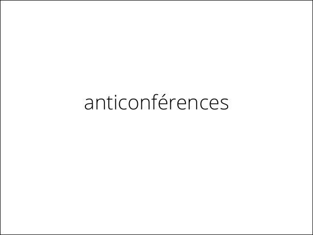 microconférences / pecha kuchas