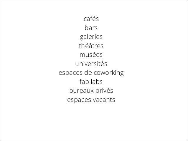 6- Les espaces publics