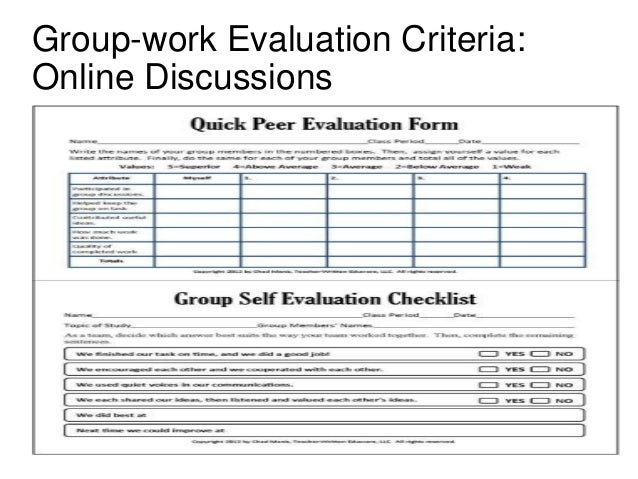 Presentation On Group Work Procedure