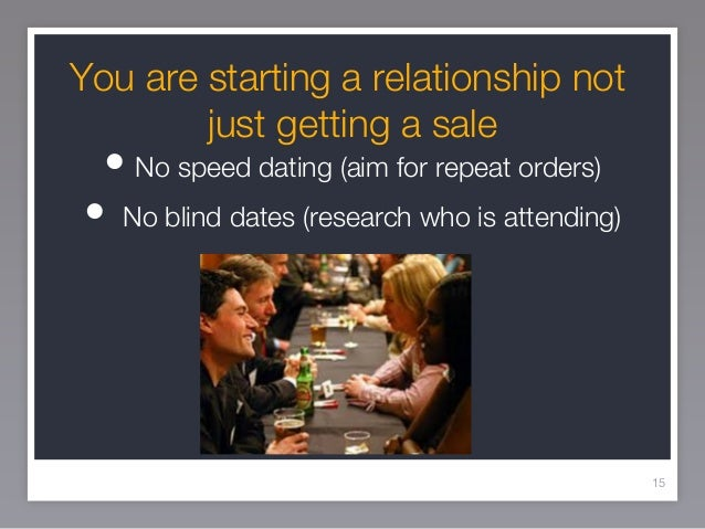 Speed dating business for sale