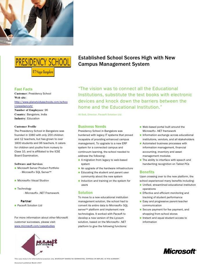 Microsoft case study on qnet