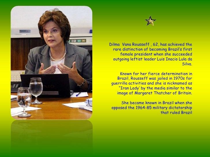 Presidenta Dilma Rousseff Slide 3