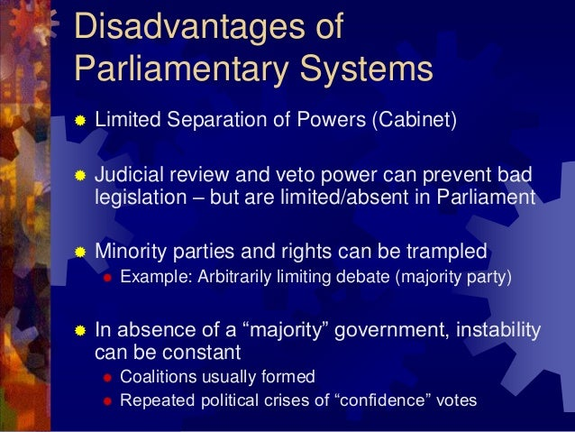 the differences between parliamentary presidential