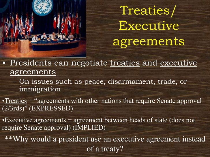 Executive agreement: definition & examples video & lesson.