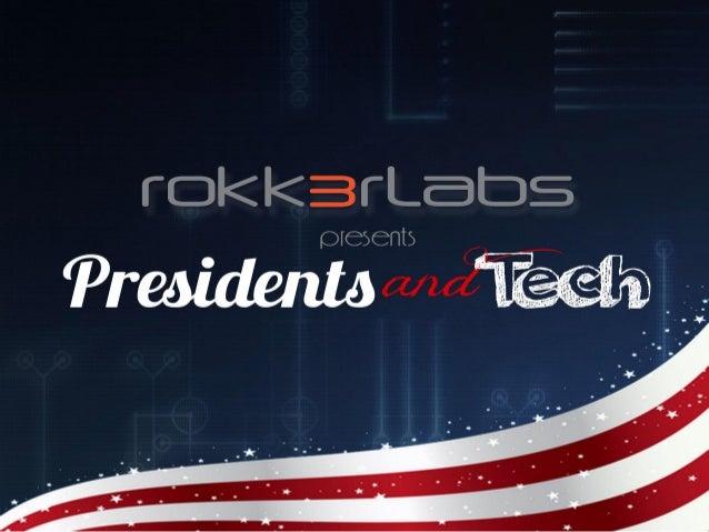 Presidents and Tech Milestones