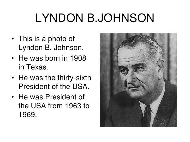 lyndon b johnson causes on the Historians and the many lyndon johnsons: historians and the many lyndon johnsons: a review essay lyndon b johnson and the transformation of.