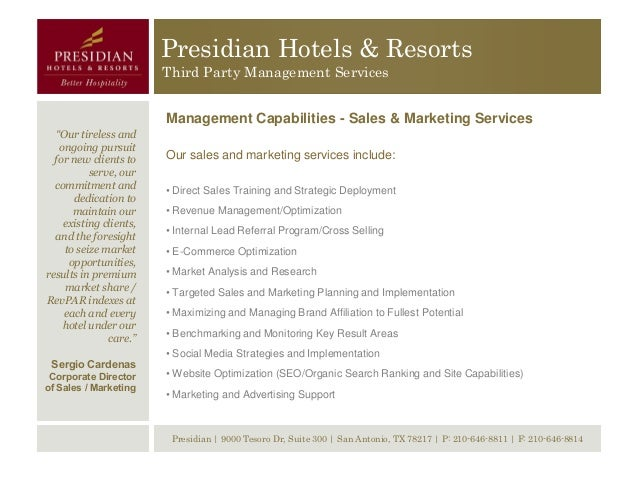 Presidian Hotels Resorts