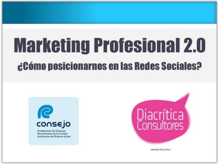 Marketing Profesional 2.0 en CPCECABA