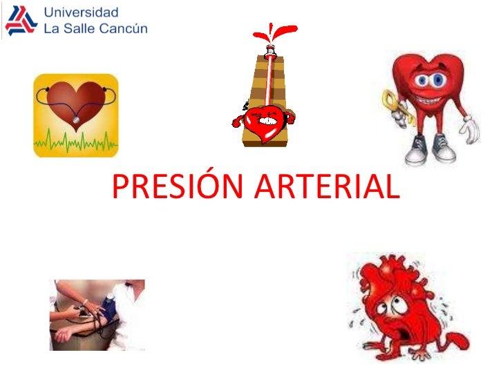 PRESIÓN ARTERIAL