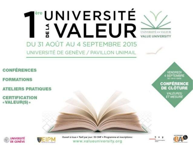 BAFS 2015 Genève : Intro