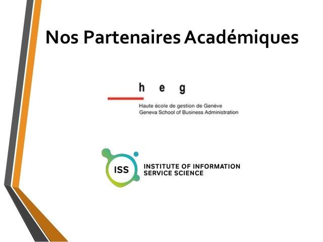 Nos Partenaires Académiques