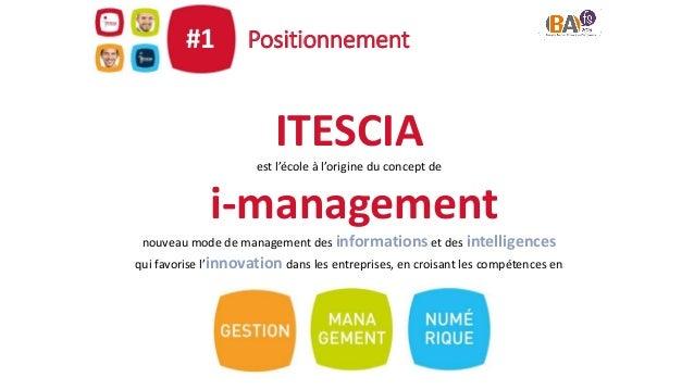 Partenariat Business Analyse#3 En partenariat depuis 2013, ITESCIA est la 1ère école en France donnant accès à la certific...