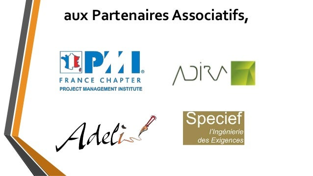 aux Partenaires Associatifs,
