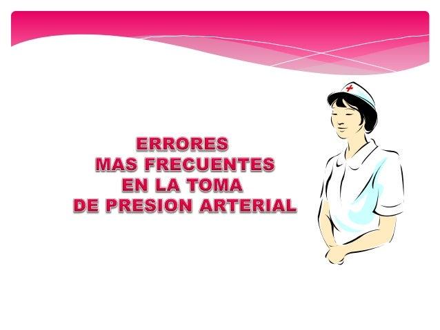 Dejar puesta vestimenta que comprime la arteria braquial ERRORES MAS FRECUENTES