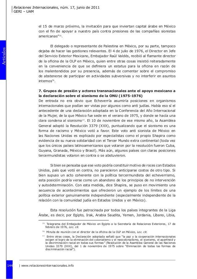 Presiones y decisiones en pol tica exterior dos momentos for Oficina relaciones internacionales uam