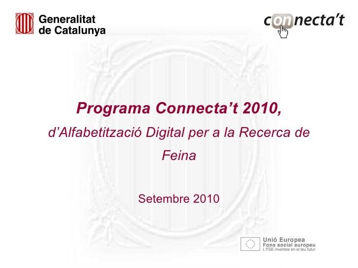Programa Connecta't 2010
