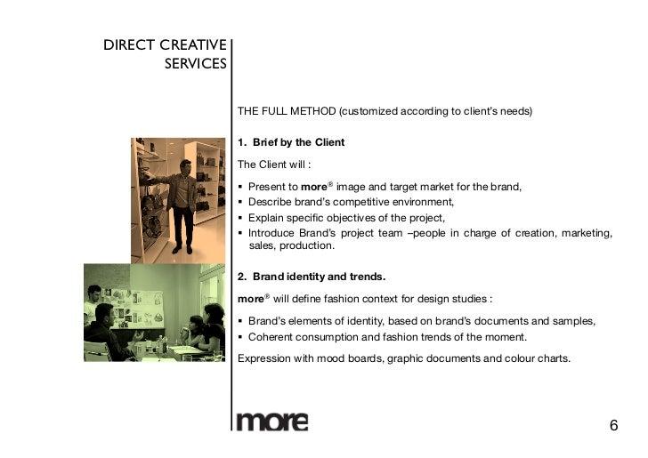interior design profile samples