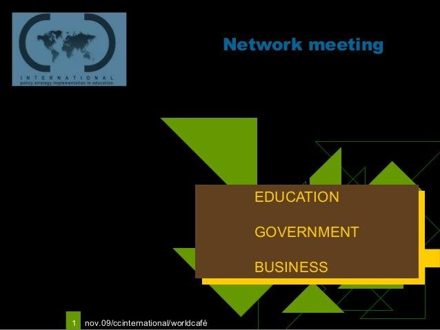 Logo van uw                                            Network meeting   bedrijf                                          ...