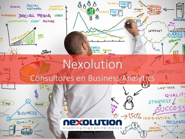 Nexolution Consultores en Business Analytics