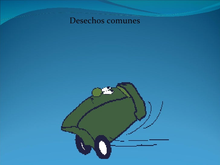 DISPOSICIÓN FINAL DE LOS DESECHOS