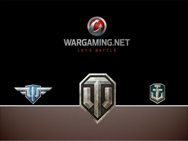  Wargaming, an institution The General: World of Tanks The Colonel: World of Warplanes The Caporal: World of Warships...