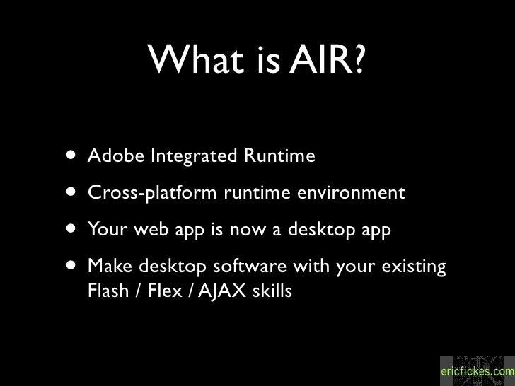 whats adobe air