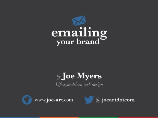 Emailing Your Brand