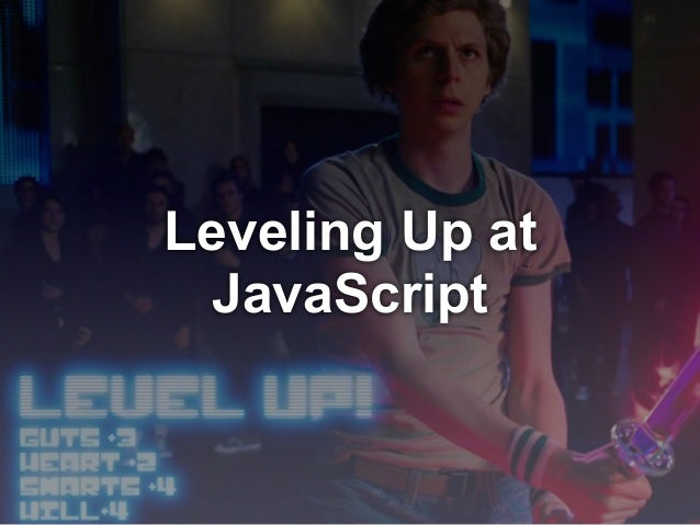 Leveling Up at JavaScript