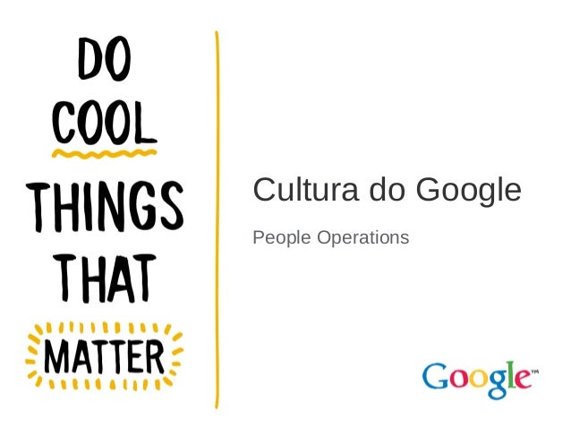 Cultura do Google People Operations