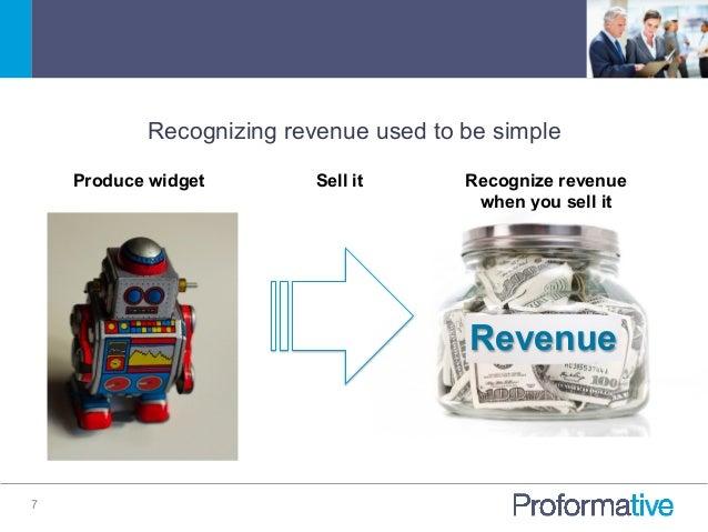 Right way to recognize revenue