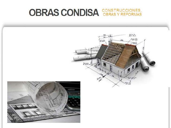 Especialistas en obras y reformas en Madrid visita nuestra página web www.obrascondisa.es