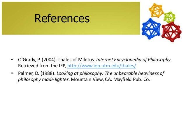 Stanford Encyclopedia of Philosophy
