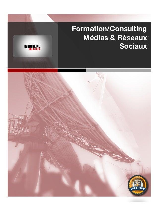 Formation/Consulting Médias & Réseaux Sociaux DSP