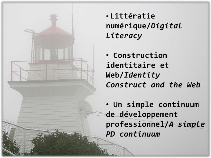 <ul><li>Littératie numérique/Digital Literacy