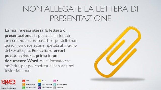Presonal branding la lettera di presentazione - Gemelli diversi prima o poi testo ...