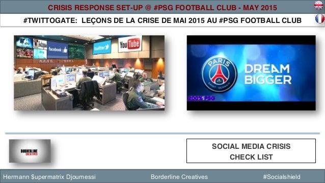 #TWITTOGATE: LEÇONS DE LA CRISE DE MAI 2015 AU #PSG FOOTBALL CLUB ! SOCIAL MEDIA CRISIS ! CHECK LIST ! Hermann $upermatrix...