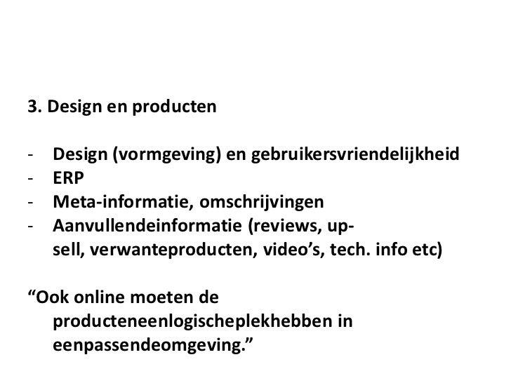 KVK Seminars - Een Webwinkel Starten!    5. Koppelingen internet marketing methoden    -     Social Media    -     E-mail ...