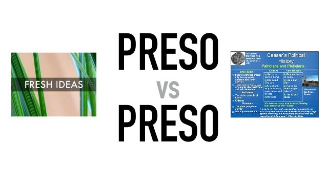 PRESO vs PRESO